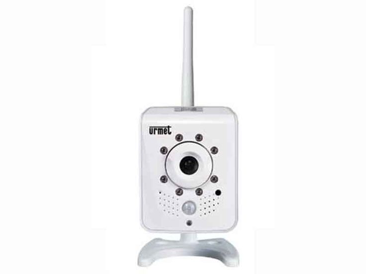 I prodotti di elettronew.com - Telecamera IPCam WiFi Urmet con ottica 3,6mm 720P SD da interno con sensore di movimento #videosorveglianza #telecamere #videoregistratori #edilizia #tecnologia #videocontrollo #sicurezza #antifurti #monitor #urmet