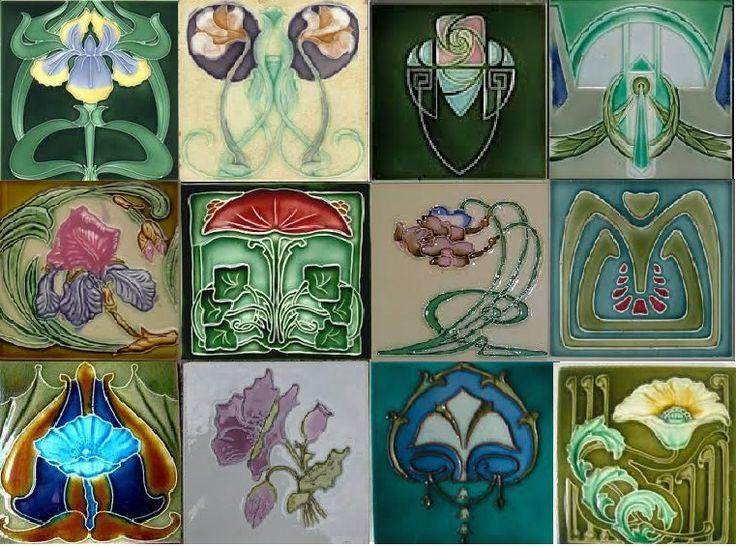Art Deco tegels