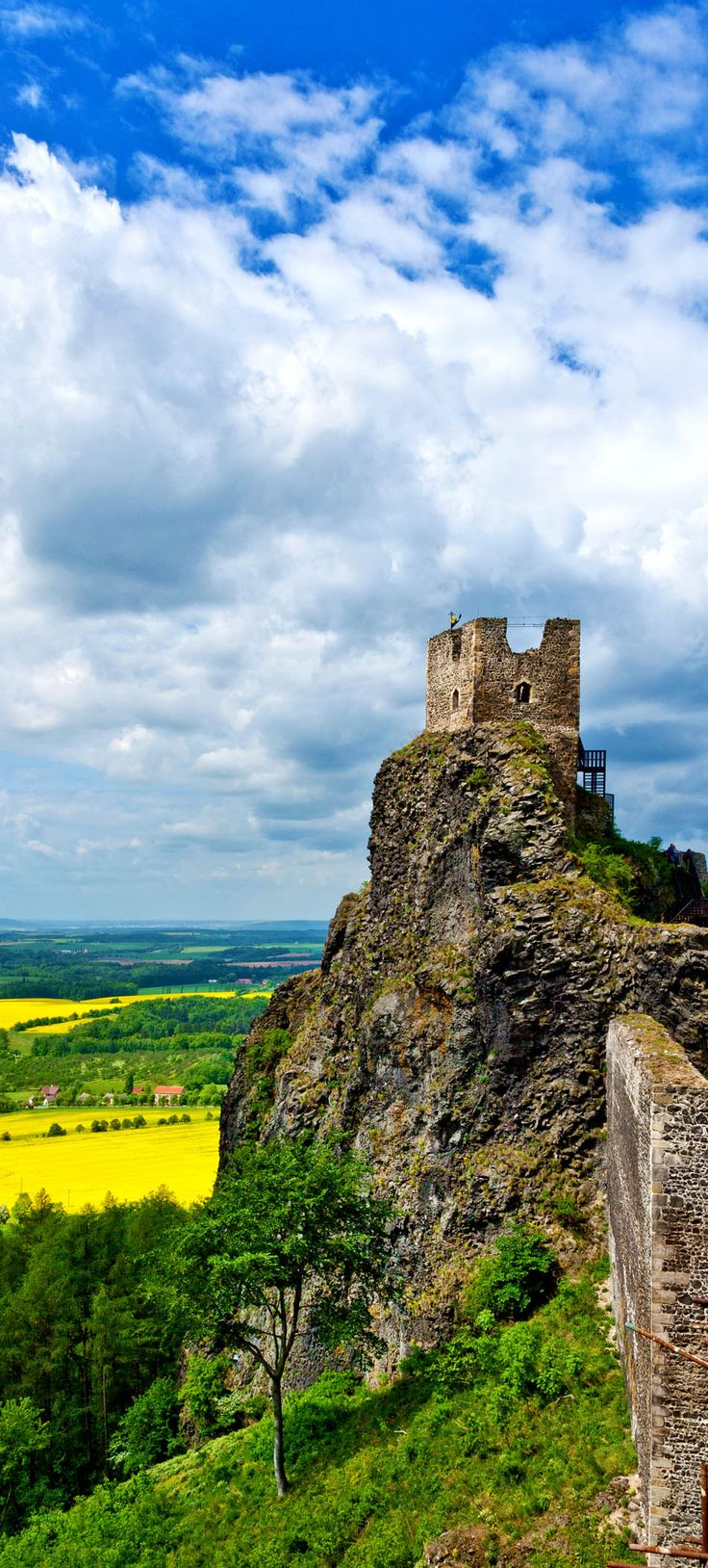 Gothic ruins of Trosky Castle, Bohemian Paradise region, Czech Republic | 22 Reasons why Czech Republic must be in the Top of your Bucket List