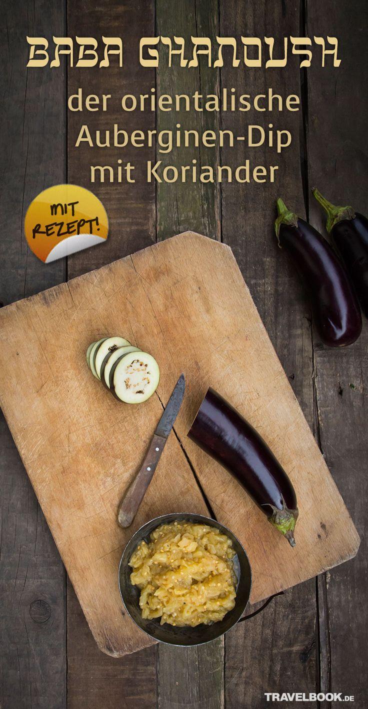 Baba Ghanoush, so heißt ein Auberginen-Dip aus der orientalischen Küche. Die Zubereitung geht einfach und schnell, wie das leicht abgewandelte Rezept von Foodbloggerin Julia Uehren zeigt.