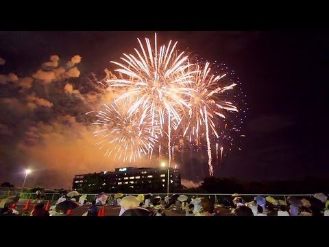 [HD]教祖祭 PL花火芸術 2012 大阪富田林 - The Art of PL Fireworks Osaka Tondabayashi Japan