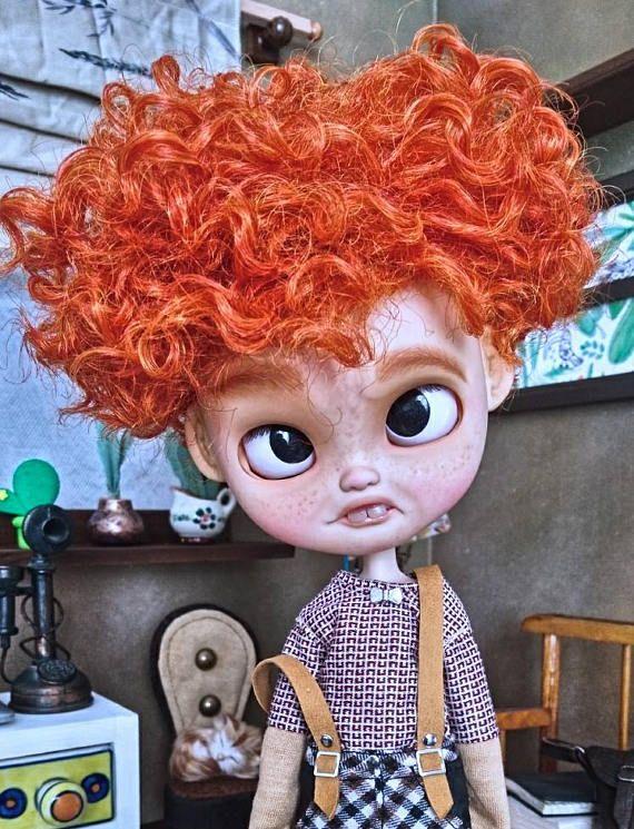 Guarda questo articolo nel mio negozio Etsy https://www.etsy.com/it/listing/530462653/icy-doll-atom-an-ooak-customed-icy-doll
