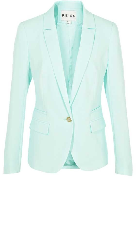 Reiss Mint blazer to wear with your pleats @yoon  you must check out Reiss forgot to mention