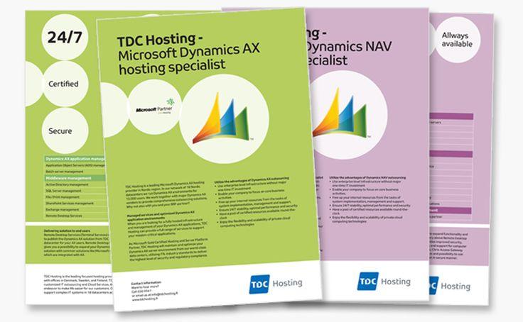 Graafinen suunnittelu TDC-hosting