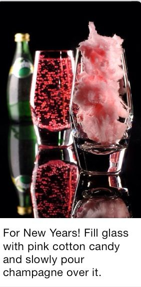 New Years or Christmas Drink -repinned from Los Angeles County, California marriage officiant https://OfficiantGuy.com