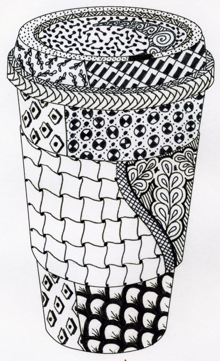 17 Best Images About Art Zentangle On Pinterest Tangle Art Patterns And How To Draw