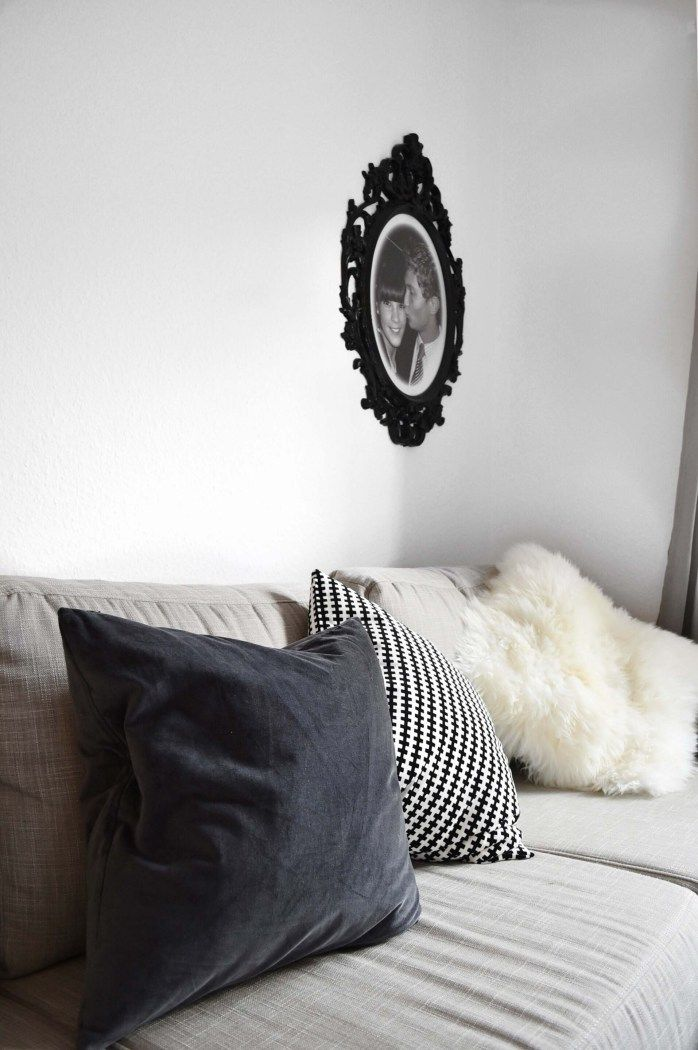 FASHIIONCARPETCOM Sofa Couch Interior Blogger Wohnung Graues Wohnzimmer