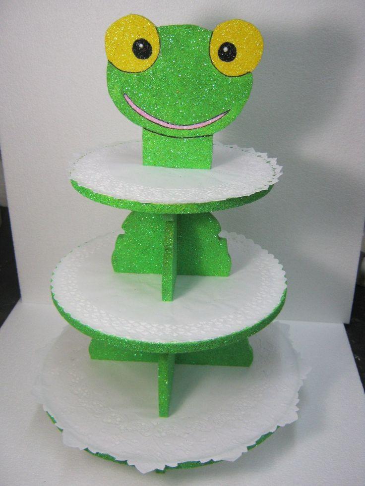 Torre Porta Cupcakes De Sapo Pepe - $ 165,00 en MercadoLibre