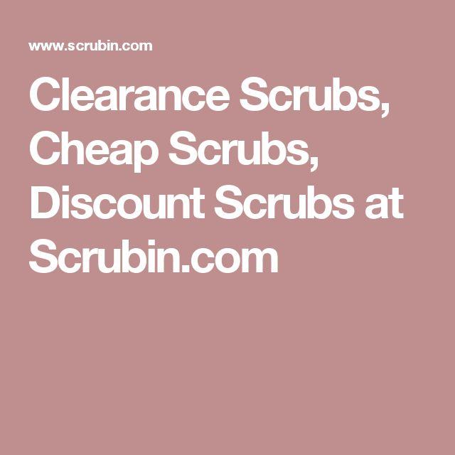 Clearance Scrubs, Cheap Scrubs, Discount Scrubs at Scrubin.com