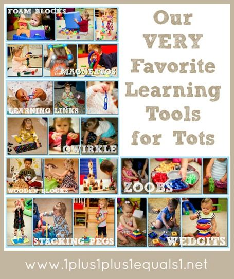 Learning toys for tots...the very favorites from @{1plus1plus1} Carisa #totschool #preschool