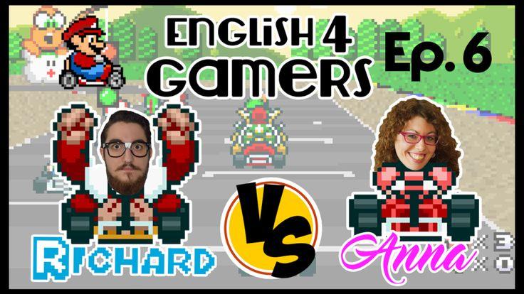 English4Gamers Episode 6 Super Mario Kart Richard Retro Free English Materials For You femfy
