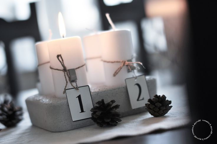 bella-beline: ✬✫ lag din egen adventsstake ✫✬