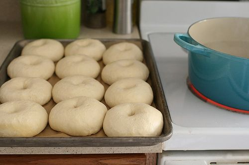 """Homemade Bagels... She gives a great how-to, start to finish... even includes toppings for the """"everything"""" bagel"""