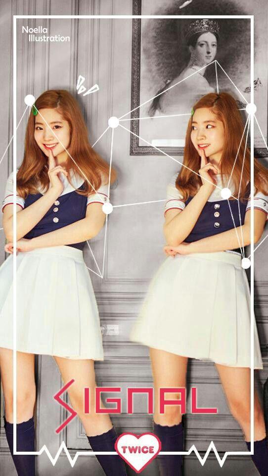 DAHYUN || Kim Dahyun || Twice Signal Lockscreen