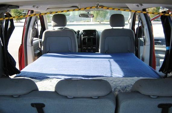 Right now I want to show you how this camper van rental company has turned this Dodge Grand Caravan minivan camper. They're a company called Lost Campers who specialize in camper van rentals …