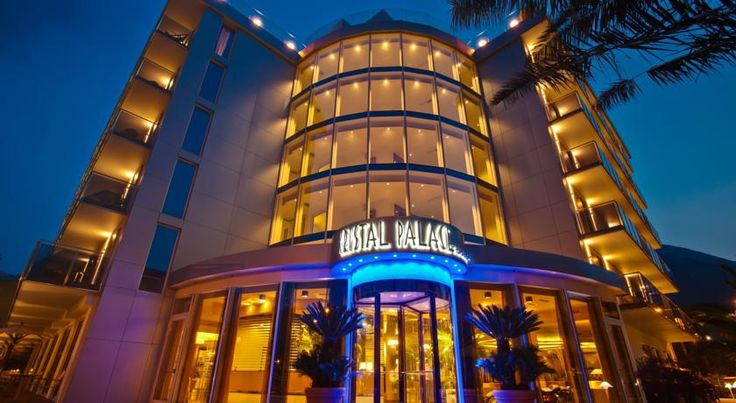 Hotel Kristal Palace - TonelliHotels Riva Del Garda Hotel Kristal Palace is a 4-star design hotel with panoramic rooftop swimming pool, hydromassage area and Technogym equipment. It is set 700 metres from central Riva del Garda and just a few steps from the lake shores.
