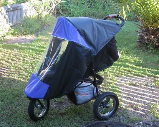 Look!  DIY Stroller Cover