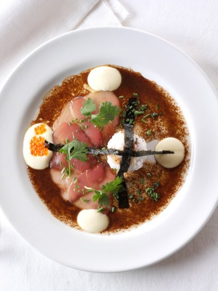Tuna Capaccio, The Foodbarn in Noordhoek, Cape Town, South Africa