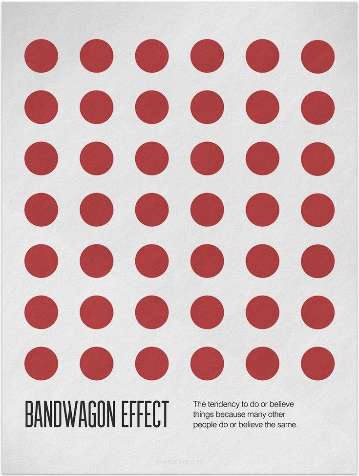 Bandwagon Effect @ minimalbias.com
