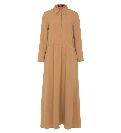 Camel Low Waist Abaya - Outlet - £14.99 : Inayah, Islamic Clothing & Fashion, Abayas, Jilbabs, Hijabs, Jalabiyas & Hijab Pins