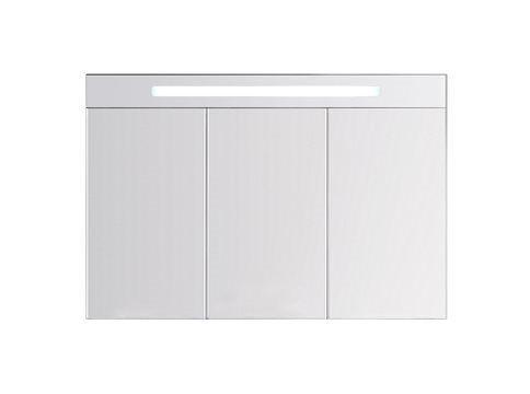 INDA S561040 Specchio contenitore con 3 ante battenti a specchio e illuminazione fluorescente interna/esterna