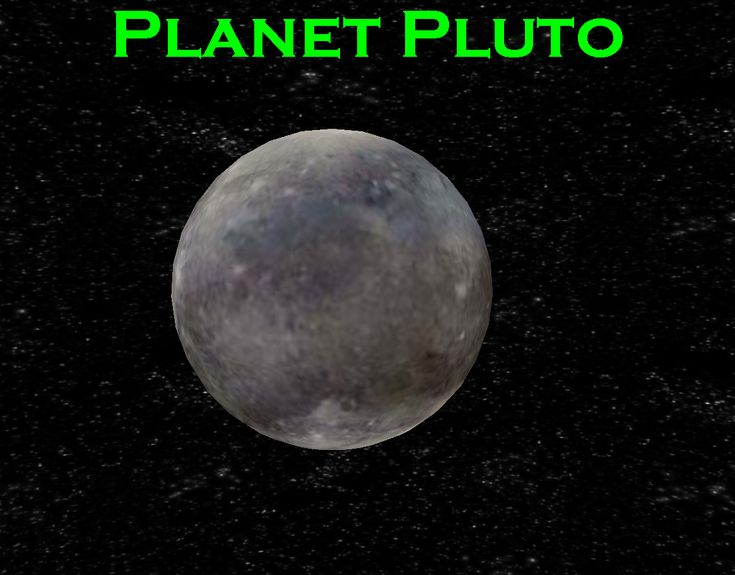 pluto the planet | Planet Pluto | Pluto My Planet | Pinterest