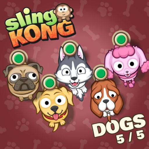 Dogs 5/5! #SlingKong http://onelink.to/slingkong