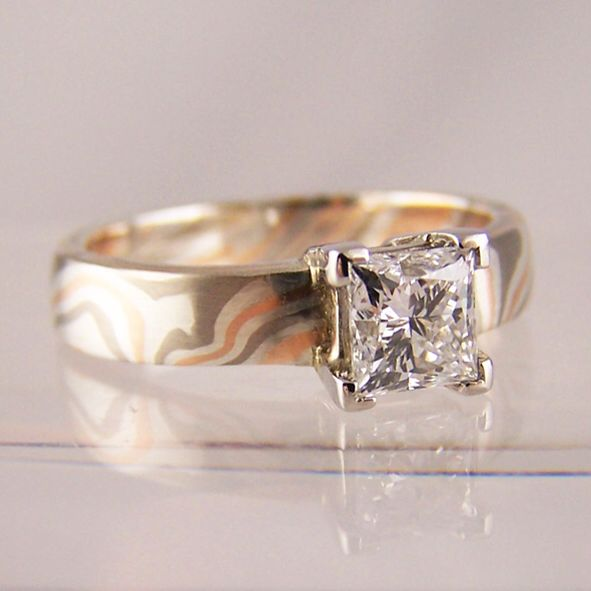 1000 Images About Mokume Gane Wedding Rings On
