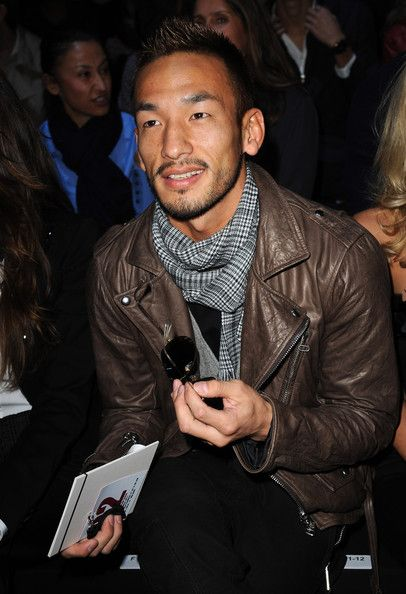 Hidetoshi Nakata Photos Photos - Hidetoshi Nakata attends the DSquared 2 Milan Fashion Week Womenswear S/S 2011 show on September 27, 2010 in Milan, Italy. - DSquared 2: Milan Fashion Week Womenswear Spring/Summer 2011