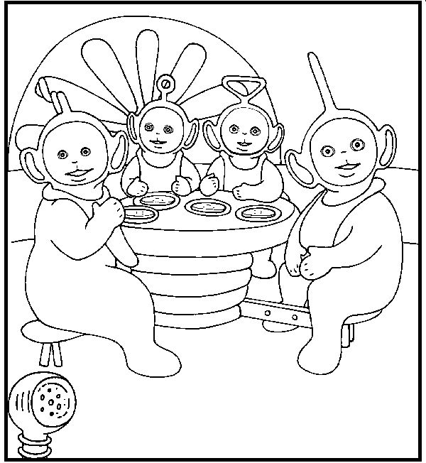 Teletubbies Coloring Books: 9 Best Images About Tubby Toast On Pinterest