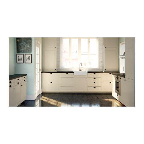 BODBYN Tür - elfenbeinweiß, 40x80 cm - IKEA