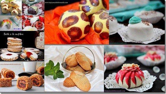 gâteau algérien et gâteau oriental pour l'aid el fitr 2015