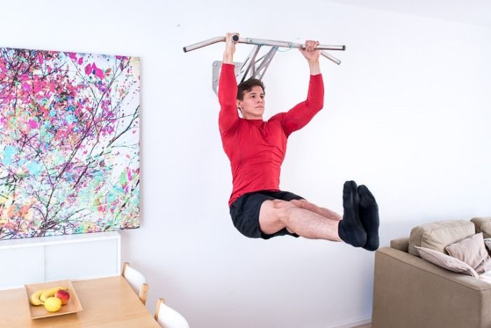Pullup & Dip - world's first portable stainless steel pullup and dip bar - Fitness Technology