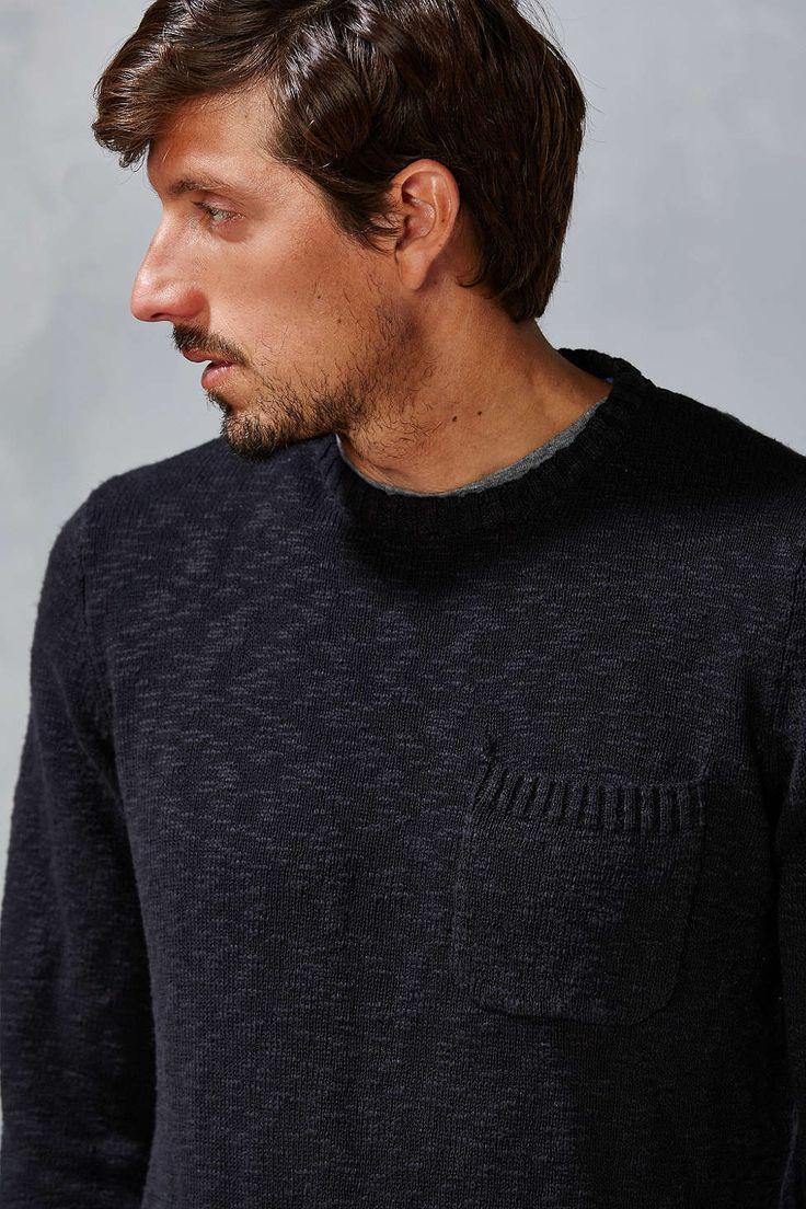 CPO Pocket Slub Sweater