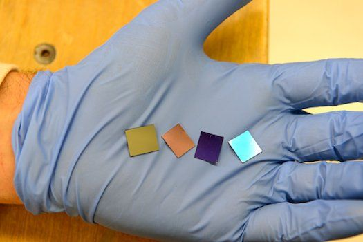 Thinnest Light Absorbers: New Nano Structure is Thinnest ever (1000x thinner than paper) absorbing nearly 100% visible light and could lead to cheaper, more efficient solar cells and other technologies.
