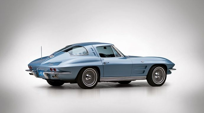 1967 corvette stingray split window driven pinterest