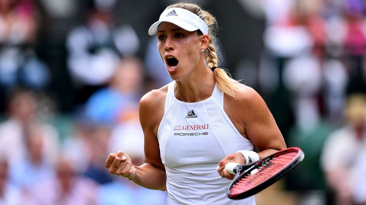 Angelique Kerber, Milos Raonic win first-round matches at Wimbledon - Los Angeles Times