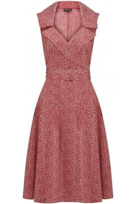 Sleeveless Fifi #dress in ditsy #floral.