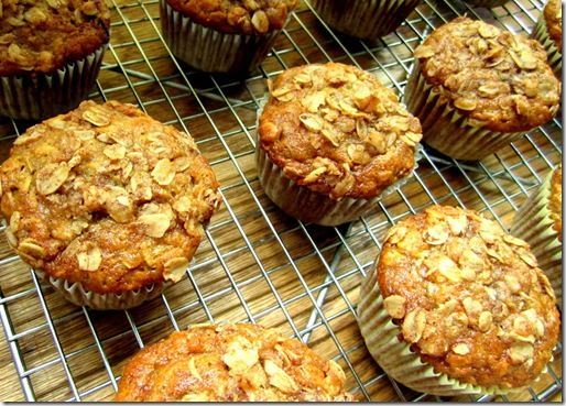 Oatmeal Raisin Banana Muffins | Good Eats | Pinterest