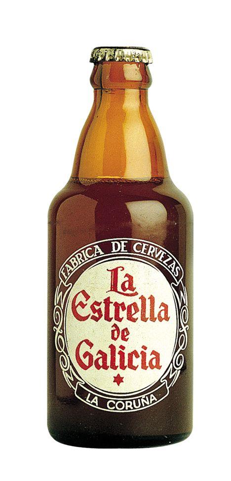 Botella de Estrella Galicia Especial en 1950