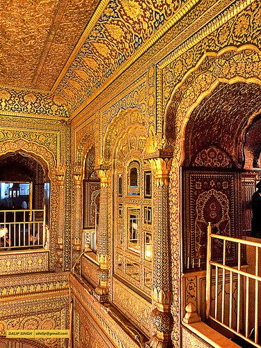 Golden Temple interior