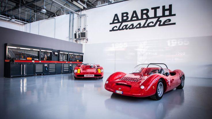 Officine Abarth Classiche dedicated to Scorpion heritage