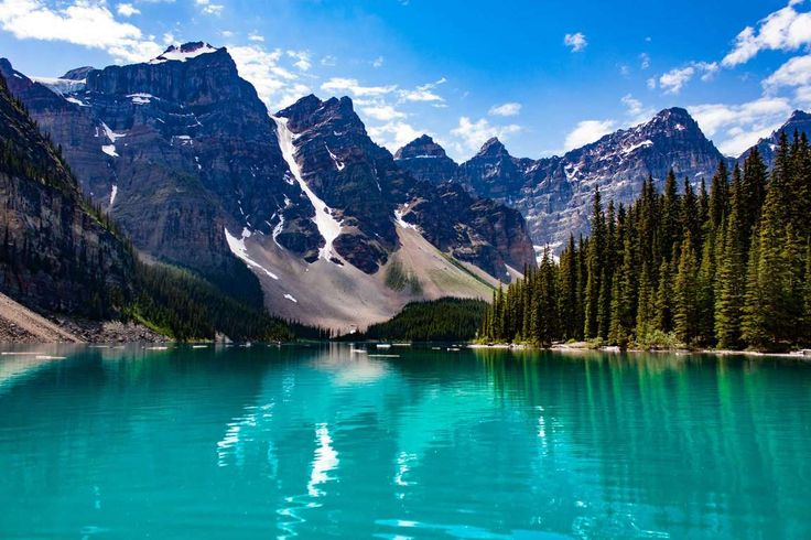 4. Lago Moraine, Canadá - Getty Images