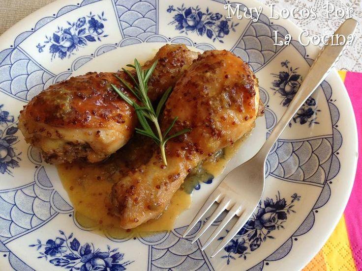Twittear      Este es un plato muy sabroso gracias a la mezcla de mostaza, ligeramente picante, y la miel dulce y, a...