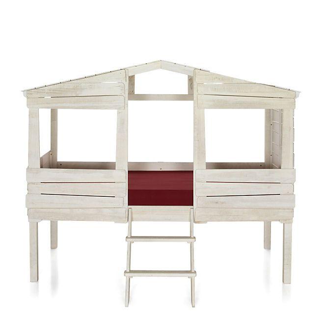 woody wood lit cabane 90x200cm chic bebe bed room. Black Bedroom Furniture Sets. Home Design Ideas