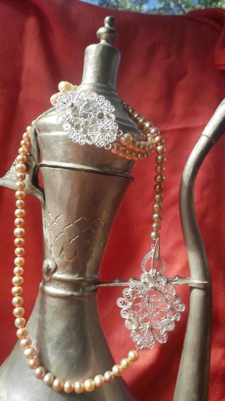 Necklace&bracelet...handmade...by AGift