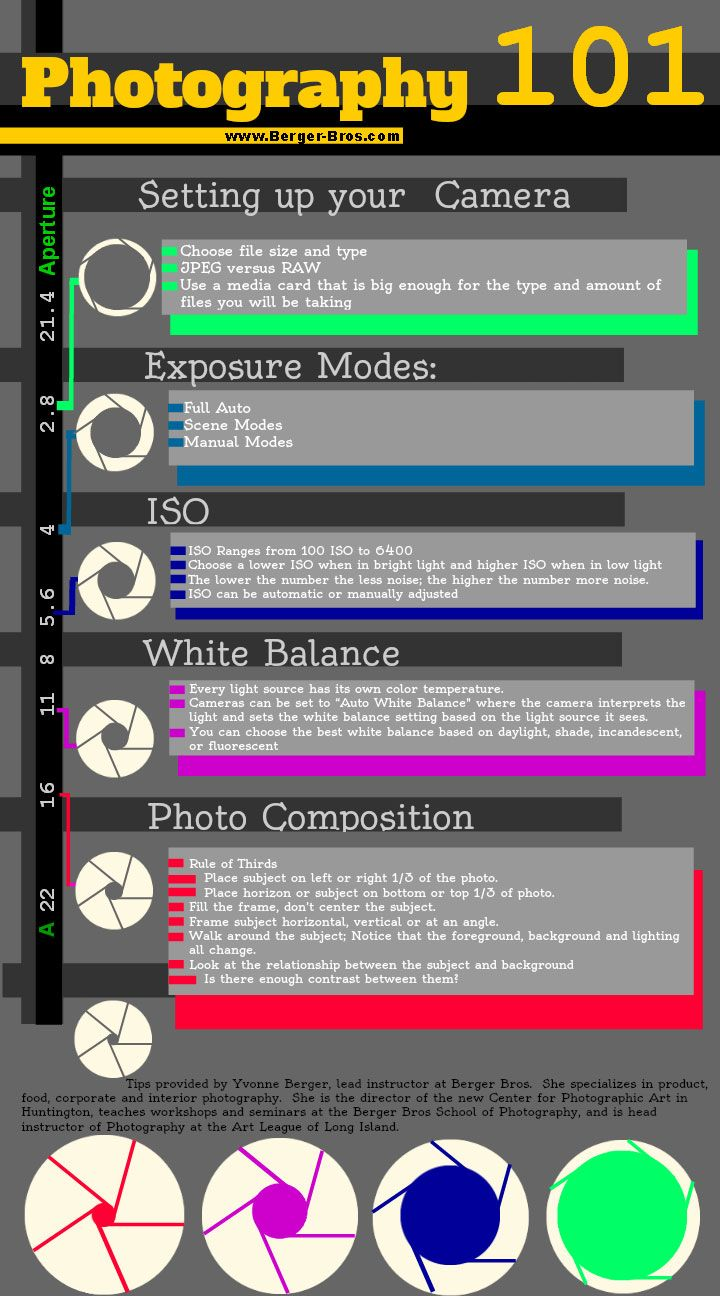 photography 101 tips