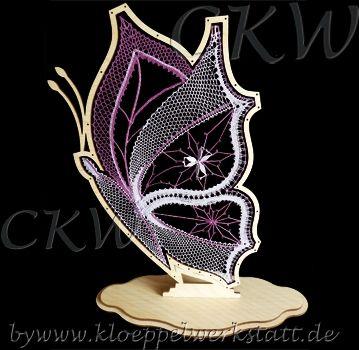 Kloeppeln Schmetterling