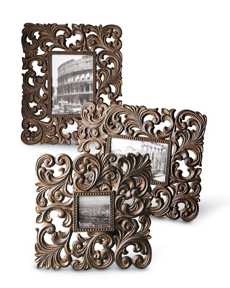 Large Cast-Aluminum Frame