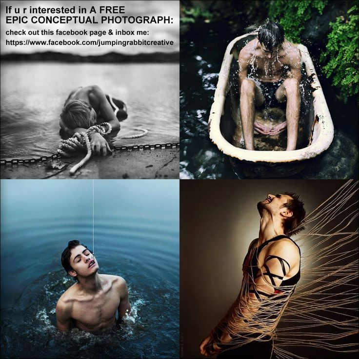 Promotion on https://www.facebook.com/jumpingrabbitcreative for conceptual photography... I'm launching this new conceptual shoot for personal use, but will give willing participants their own prints of the photos... inbox me on facebook